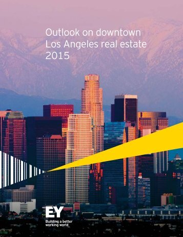 Outlook on downtown Los Angeles real estate 2015