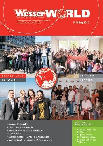 Frühling 2012 - Wesser Studentenjob und Ferienjob - Studentenjobs ...