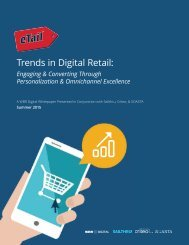 Trends in Digital Retail