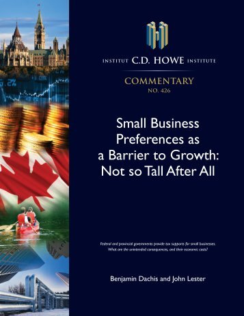 Small Business Preferences as a Barrier to Growth Not so Tall After All