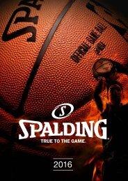 Spalding Katalog2016