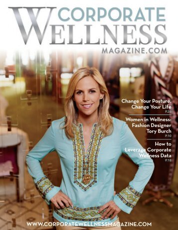 WWW.CORPORATEWELLNESSMAGAZINE.COM