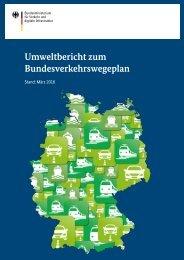 BVWP 2030 Umweltbericht nicht technische Zusammenfassung