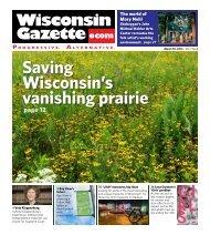 Saving Wisconsin's vanishing prairie
