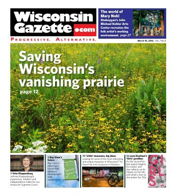 Saving Wisconsin's vanishing prairie