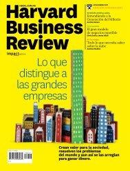Lo que distingue a las grandes empresas - Harvard Business Review