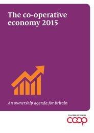 The co-operative economy 2015