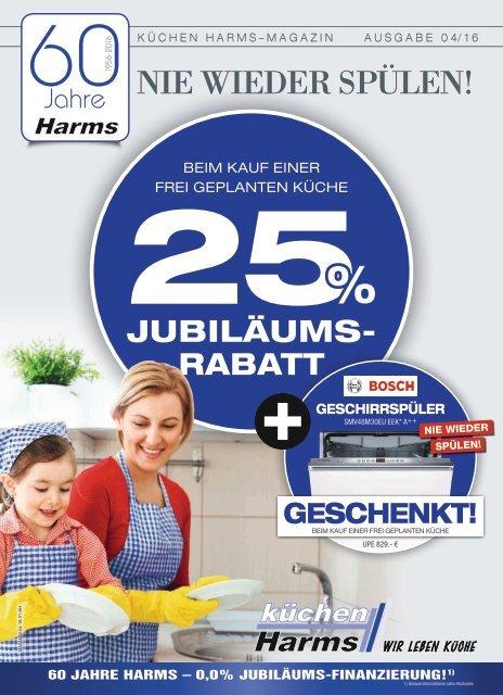 Küchen Harms - Jubiläumsrabatt