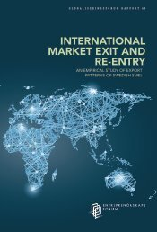 INTERNATIONAL MARKET EXIT AND RE-ENTRY