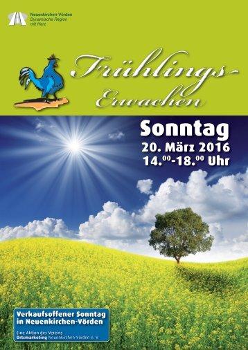 Frühlingspost 2016 Neuenkirchen-Vörden