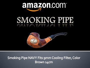 Smoking Pipe NAVY fits 9mm - Amazon.com