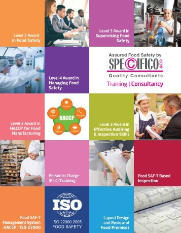 AFS By Specifico & Co. - Food Safety Training and Consulting