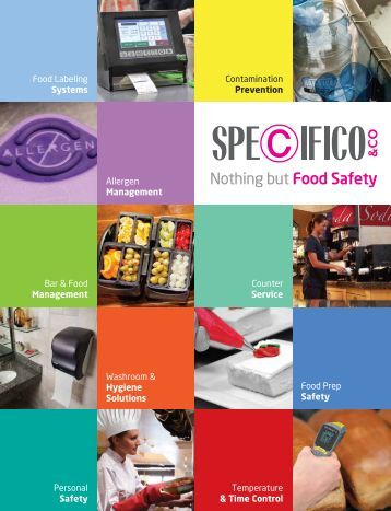 Specifico & Co. Food & Personal Safety Products Catalog
