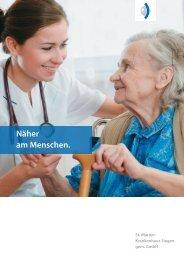 Imagebroschüre des St. Marien-Krankenhaus Siegen
