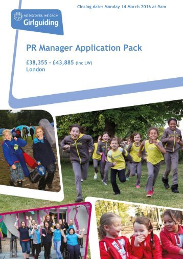 PR Manager Application Pack