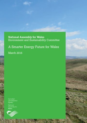 A Smarter Energy Future for Wales