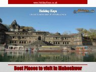Best Places to Visit in Maheshwar - HolidayKeys.co.uk