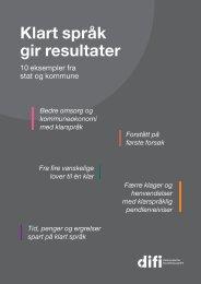 Klart språk gir resultater