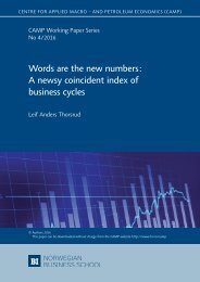 Words are the new numbers A newsy coincident index of business cycles