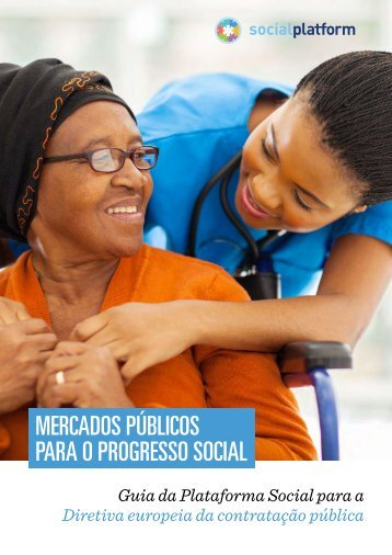 Mercados PÚBLICOS Para o progresso social