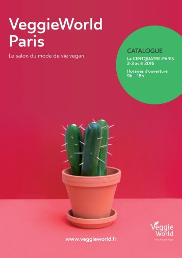 VeggieWorld Paris Catalogue Avril 2016