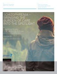 Schizophrenia – Bringing the burden of care into the spotlight