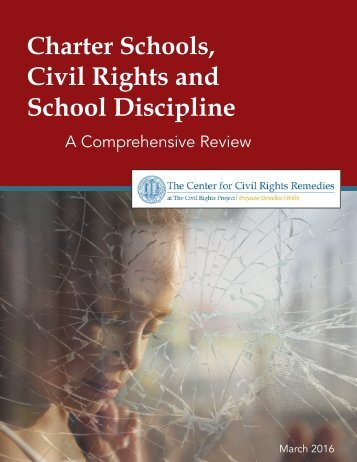 Civil Rights and School Discipline