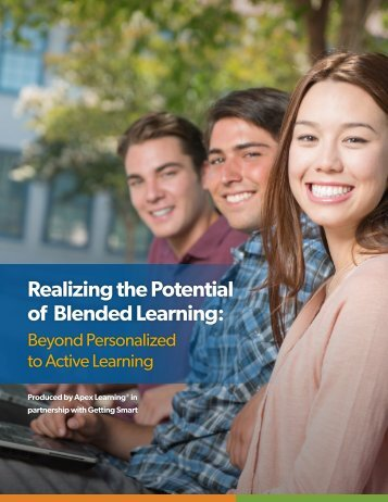 Realizing the Potential of Blended Learning