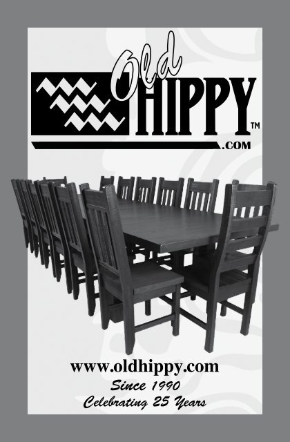 Old Hippy 2016 Catalog