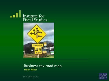 Business tax road map