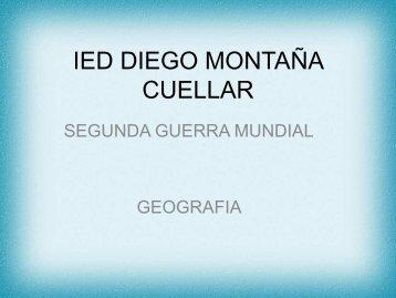 IED DIEGO MONTAÑA GEOGRAFIA 7 GRADO