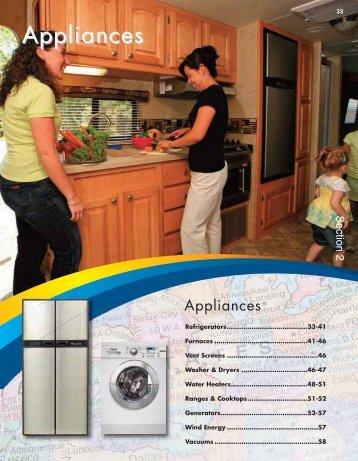 Appliances - BR Wholesale RV & Marine
