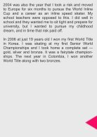 My Story Nicole Begg Destined to Skate - Page 6