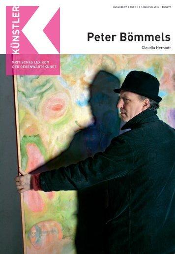 Peter Bömmels - Weltkunst