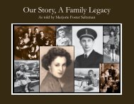 Our Story, A Family Legacy Final for Yumpu