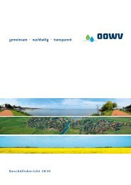 OOWV in Zahlen - pr/omotion Gesellschaft für Kommunikation mbH