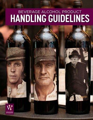 HANDLING GUIDELINES