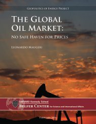 The Global Oil Market