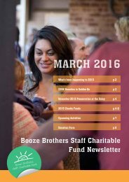 BBSCF Newsletter March 2016