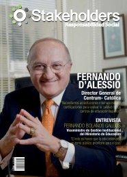 Revista Stakeholders - Responsabilidad Social