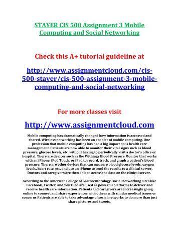 term paper mobile computing and social networks Cis 500 term paper mobile computing and social networks http homeworktimescom downloads cis-500-term-paper-mobile-computing-social-networks for more.