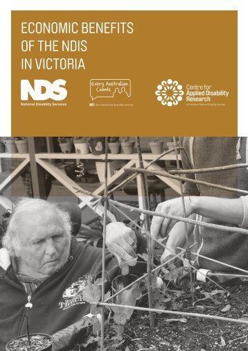 ECONOMIC BENEFITS OF THE NDIS IN VICTORIA