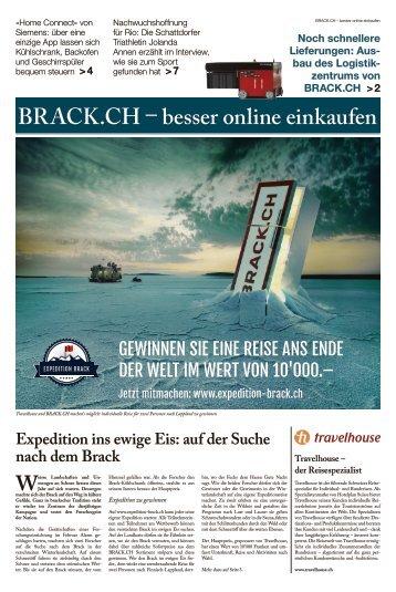 BRACK.CH – Sonntagspresse