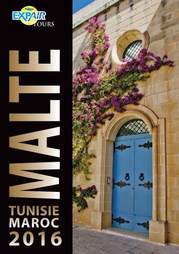 Brochure Malte - Tunisie - Maroc