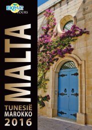 Brochure Malta - Tunesië - Marokko