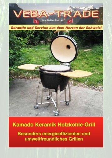 Kamado Keramik Holzkohle Grill