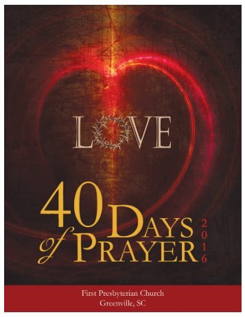 TABLE OF CONTENTS HOW TO USE THIS 40-DAY PRAYER JOURNAL