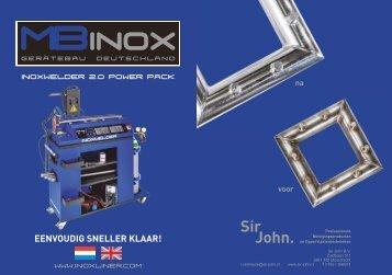 Flyer Inoxwelder Holland