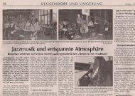 Iazzrnusik und entspannte Atmosphare - Jazz and more eV