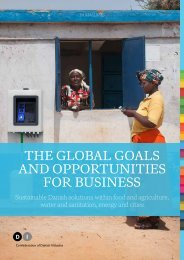 THE GLOBAL GOALS AND OPPORTUNITIES FOR BUSINESS